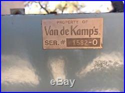 1940s/1950s Vintage Van de Kamp's Bakery Porcelain Neon Windmill Sign Antique