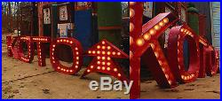 24 X 23 X 4.5 LARGE Movie Theater Vintage Marquee Art Letter Carnival Available