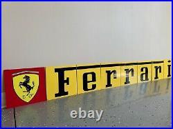 Amazing 80 8 Piece Ferrari Italian Racing Vintage Reproduction Garage Sign
