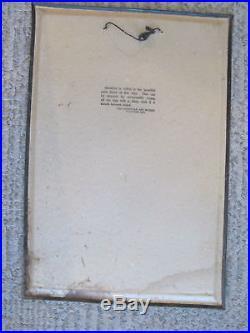 American Artworks KING AERATOR Vintage Tin Lithograph Farm Advertising Sign
