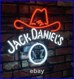 Jack Daniel's t Vintage Bar Decor Pub Artwork the Neon Sign co Ligh 17''x14'