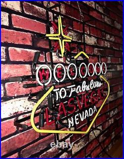 Lasvegas Decor Artwork Vintage Gift Pub Central Perk Neon Signs 24''X20'