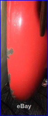 Original 36 Metal Enamel Coca Cola Button Coke Sign Vtg Soda Pop Advertising