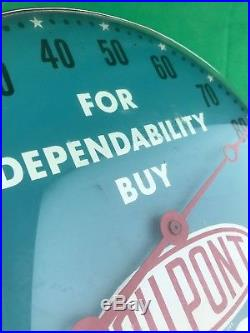 RARE Vintage DuPont Freon Refrigerants Advertising Sign Pam Bubble 12