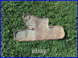 RARE Vintage Metal Dekalb Flying Ear Sign FARM SEED FEED GAS OIL COLA 16 Tall