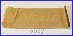 Rare Vintage Original Moxie Soda Sign Drink Moxie double-sided flange sign
