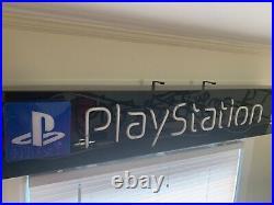 Sony Playstation 2 Neon Sign (used, fair) Vintage Display Advertising