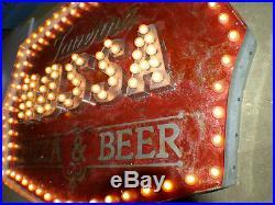 Theater Vintage Marquee Light art 48X38X4 INDOOR COMMERCIAL Restaurant