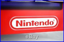 ULTRA RARE! GAMEBOY ADVANCE Neon Light Up Store Display Sign Nintendo Logo VTG