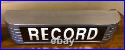 VINTAGE Reproduction RCA ON AIR STUDIO WARNING SIGN LIGHT RADIO STATION 117VAC