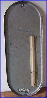 Vintage 1930's-1940 Orange Crush Soda Advertising Metal Thermometer Sign