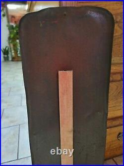 Vintage 1948 ROYAL CROWN COLA THERMOMETER ADVERTISING METAL SIGN