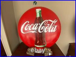Vintage 1960's Coca-Cola Sign