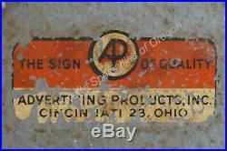 Vintage 1960s OK Used Cars Lighted Clock Sign Chevrolet Dealership Dealer GM AC