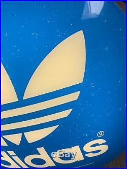 Vintage 90s Adidas Lighted Bubble Sign Store Display Advertising Nike Jordan