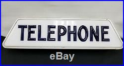 Vintage Bell Telephone Advertising display Sign Neon Light Original from 1960's