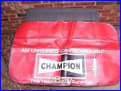 Vintage Champion Sparkplugs auto fender accessory car auto gm street rat hot rod