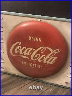 Vintage Coca Cola Restaurant Menu Board