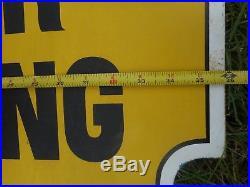 Vintage DUPONT Auto Painting Body Repair Oil Automotive Advertising Die CUT SIGN