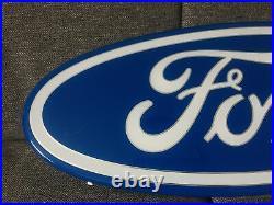 Vintage Ford showroom light box sign. Not enamel. Automobilia