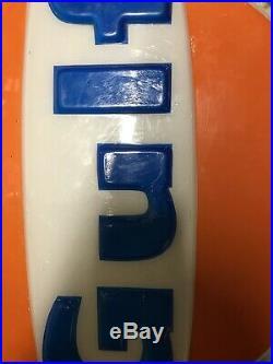 Vintage Gulf Oil Gas Dealer Lighted Sign 21