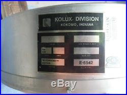 Vintage Gulf Oil Gas Dealer Lighted Sign Kolux Minty