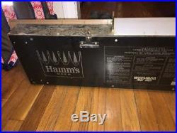 Vintage Hamm's Beer Rippler Motion Bar Advertising Sign/Light, 1960s, Works