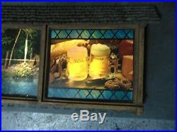 Vintage Hamms Advertising Beer Rippler Scene O Rama Sign Rare Read All Has Flaws
