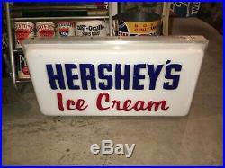 Vintage Hershey Ice Cream Lighted Sign