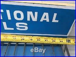 Vintage International Harvester Tool Display Rack IH Farmall Sign