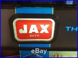 Vintage JAX BEER AQUARIUM MOTION ADVERTISING SIGN New Orleans Texas WORKS