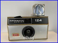 Vintage Kodak Instamatic 124 Camera Large Store Light Up Display Sign