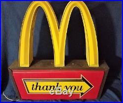Vintage McDonald's 38 Sign