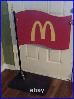 Vintage McDonalds Sign with Pole ultimate collectors gift