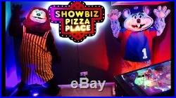 Vintage NOS Billy Bon Showbiz Pizza Walk Around Suit Sign Statue Furry