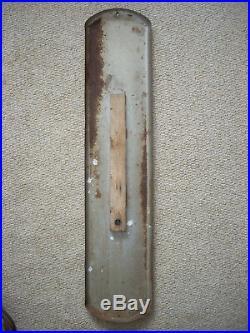 Vintage Original 1950's Sealed Power Piston Rings Advertising Metal Thermometer