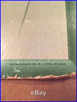 Vintage Original COCA COLA Cardboard Sign Advertising 1942