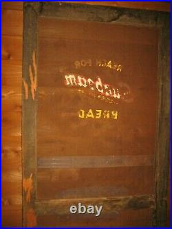 Vintage Original General Store Door Florida Cracker Store Sunbeam Bread Sign