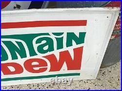 Vintage Original Mountain Dew Sign