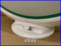 Vintage Original Sinclair Dino Gasoline Glass lens Sign Gas Pump Globe HC 1