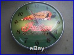Vintage Pam Clock Motorcycles