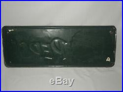 Vintage Pepsi-cola Drink Pepsi Embossed Tin Metal Advertising Sign (24 X 9)