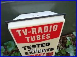Vintage RCA TV Radio Tube Tested By Experts We Replace With RCA Tubes Lighted