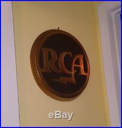 Vintage Rare RCA Sign Advertisement
