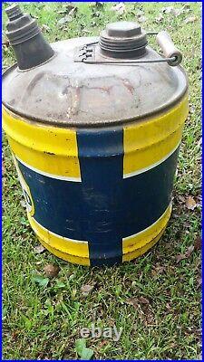 Vintage Richfield Motor Oil 5 Gallon Can