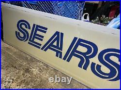 Vintage Sears Light Box Roadway Sign