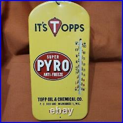 Vintage Super Pyro Anti-Freeze Thermometer