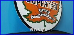 Vintage Supertest Gasoline Porcelain Gas Style Service Station Pump Plate Sign