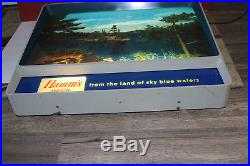 Vintage WORKING Hamm's beer motion light advertising sign No. 152 VERY NICE