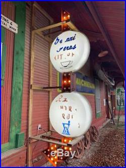 Vintage Walgreen's Sign- Flashing Lights